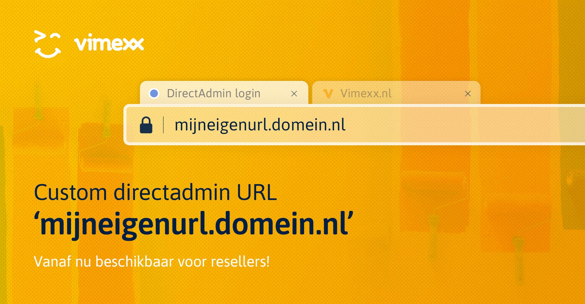 Eigen DirectAdmin reseller URL